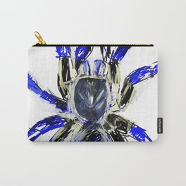 Tarantula Blue Carry-All Pouch