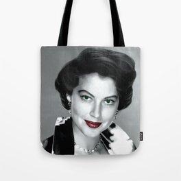 Ava Gardner Portrait #1 Tote Bag
