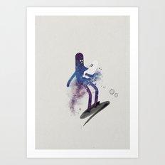 a s t r o g a n g a Art Print