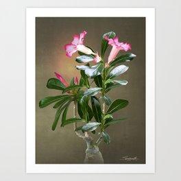 Spade's Desert Rose Art Print