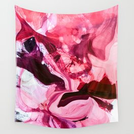 the red touch Wall Tapestry