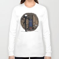 hallion Long Sleeve T-shirts featuring What's This? What's This? by Karen Hallion Illustrations