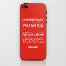 Philadelphia — Delicious City Prints iPhone & iPod Skin