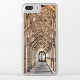 Color High Level Bridge in Newcastle upon Tyne Clear iPhone Case