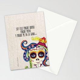 La Catrina de Patricia Fornos Stationery Cards
