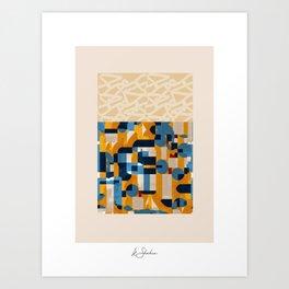 """Patrones de amor"" - Signed Art Print"