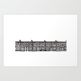 Brick of London Art Print