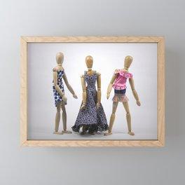 Spring Fashion Show Framed Mini Art Print