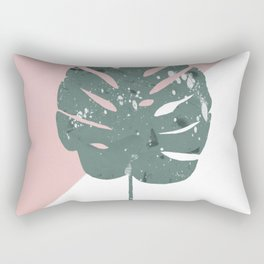 solo monstera Rectangular Pillow