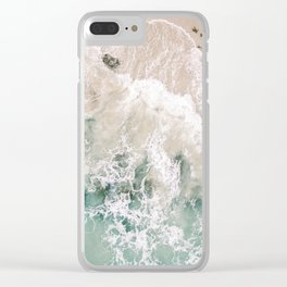 Frothy Fourth Beach Clear iPhone Case