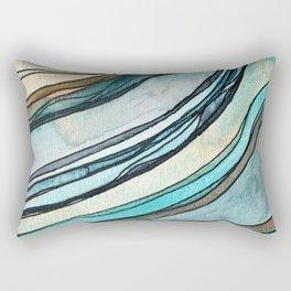 springs in the bedrock Rectangular Pillow
