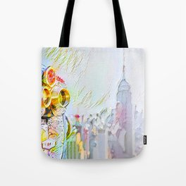 New York Colore Tote Bag