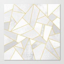 White Stone Canvas Print