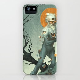 Aboard a Dying Construct iPhone Case