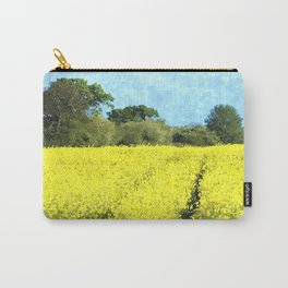 Rape Seed Field watercolour Carry-All Pouch