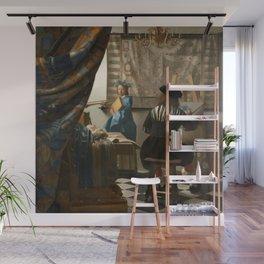 Johannes Vermeer - The Art of Painting Wall Mural