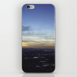 Boise Sunset iPhone Skin