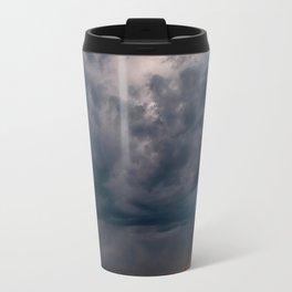 Arizona Desert View Landscape Sunset and Rain Storm Travel Mug