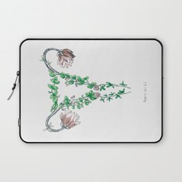 Magnolia uterus Laptop Sleeve