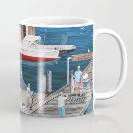 Laughing Gulls Landing Coffee Mug