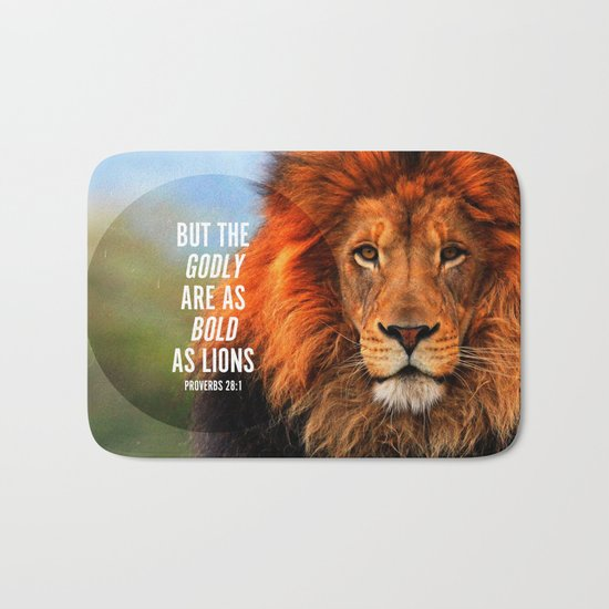 BOLD AS LIONS Bath Mat