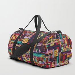 Windows to Red Planet Duffle Bag