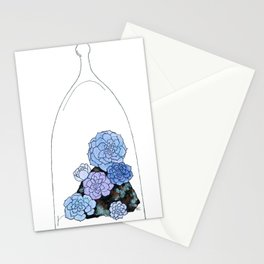"""Proliferate""/ Echeveria perl von nurnberg Stationery Cards"