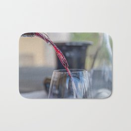 Capercaille Red Wine, Hunter Valley, Australia Bath Mat