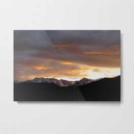 Sunset on Trail Ridge 3 Metal Print