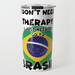 BRASIL Travel Mug