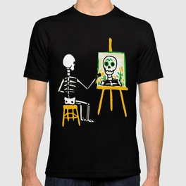 Death painting T-shirt