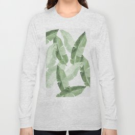 Tropical Leaves 2 Long Sleeve T-shirt