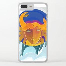 Cancer / Altarf / Zodiac Clear iPhone Case