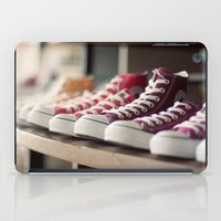 converse iPad Cases featuring Converse by whitney b