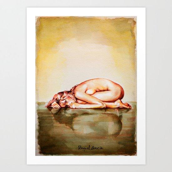 Femme/1 Art Print
