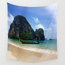 Railay Beach, Thailand Wall Tapestry