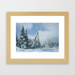 Winter day 15 Framed Art Print