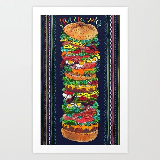 Grandwich Art Print