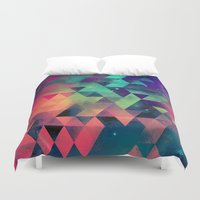 booty Duvet Covers featuring nyyt tryp by Spires
