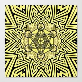 sayagata variation/metatron Canvas Print