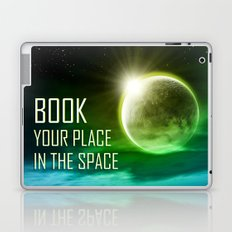 Book your place in the space Laptop & iPad Skin