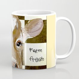 Farmhouse Cow, Welcome Home Farm Fresh Coffee Mug