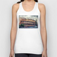 rome Tank Tops featuring Colosseum Rome by jbjart