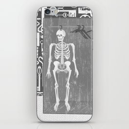 SKELETON IN THE CLOSET iPhone Skin
