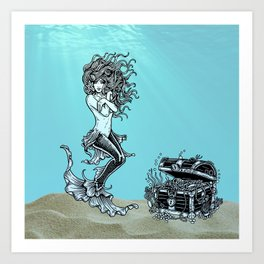 Sea Treasures ll Art Print