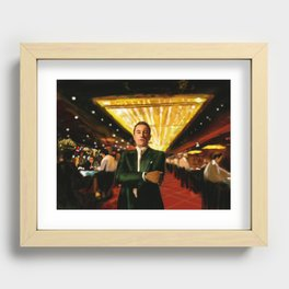 Ace Recessed Framed Print