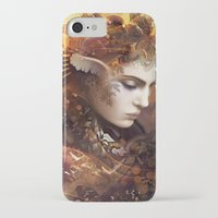 autumn iPhone & iPod Cases featuring Autumn by AlexToothArt
