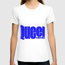 Queen of New York (Blue) T-shirt