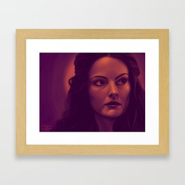 Lady Sif Framed Art Print