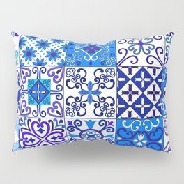 Moroccan Tile islamic pattern Pillow Sham